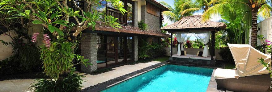 Une villa de vacances